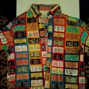 MOSCHINO CASUAL SHIRT 100% AUTHENTIC